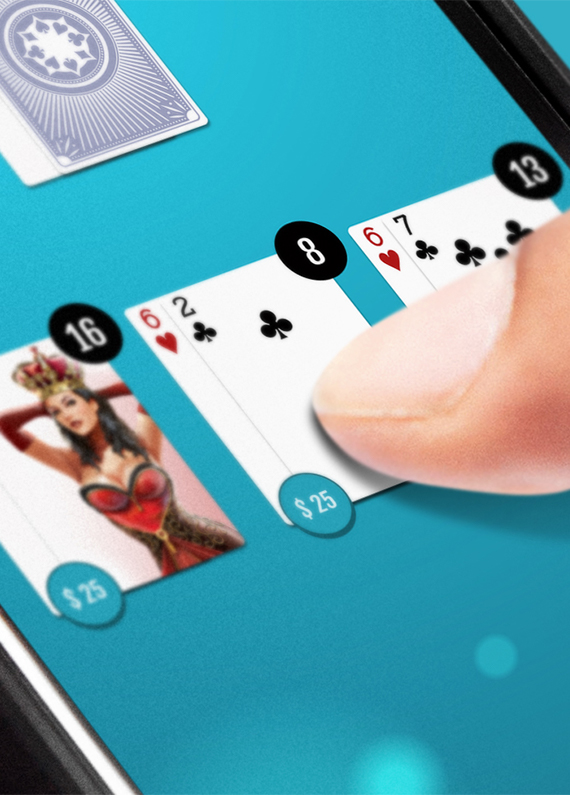 How to Play Online Blackjack at Slots.lv