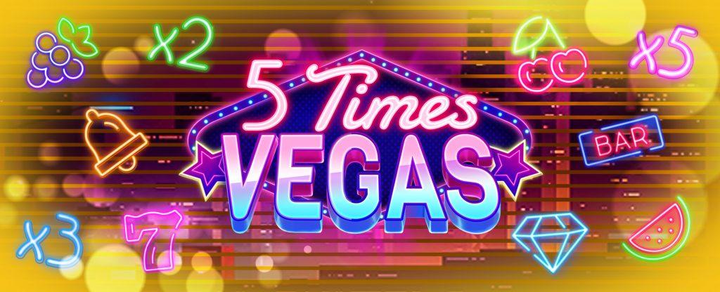 play 5 Times Vegas online slots